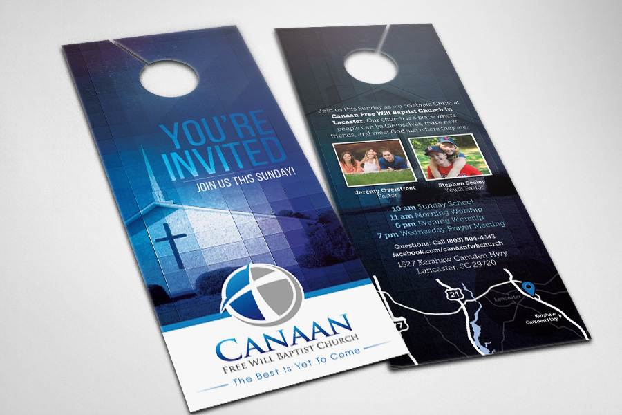 Door Hangers  Compel Graphics  Printing