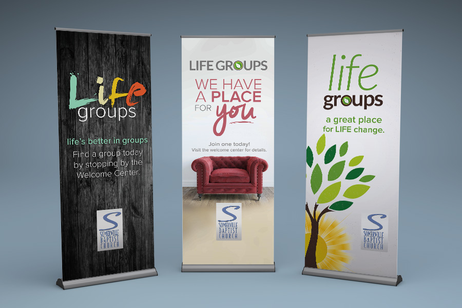 Retractable Banners Compel Graphics Amp Printing