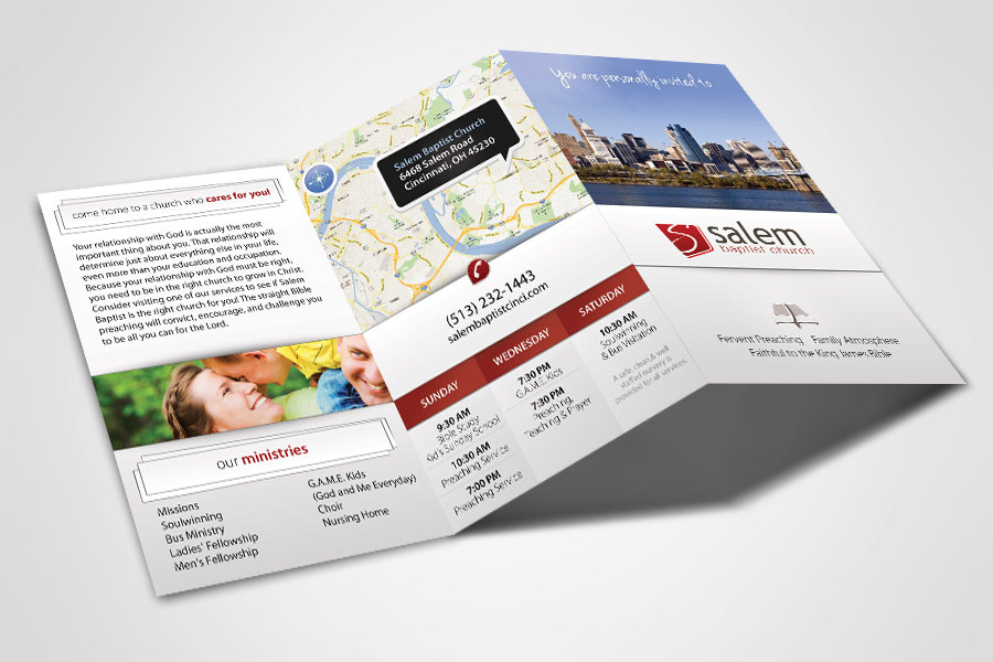 Tri-Fold Tract - Compel Graphics & Printing