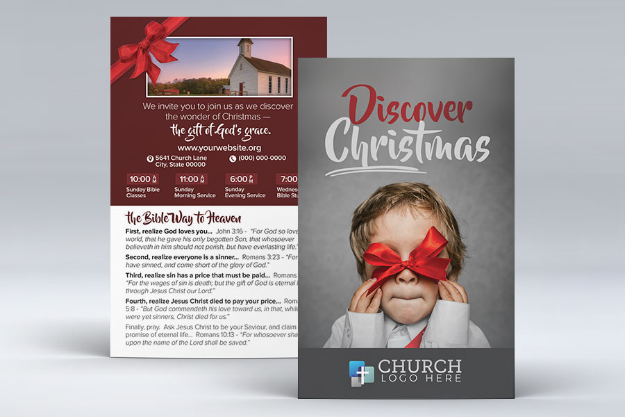 discover christmas invite card compel graphics printing