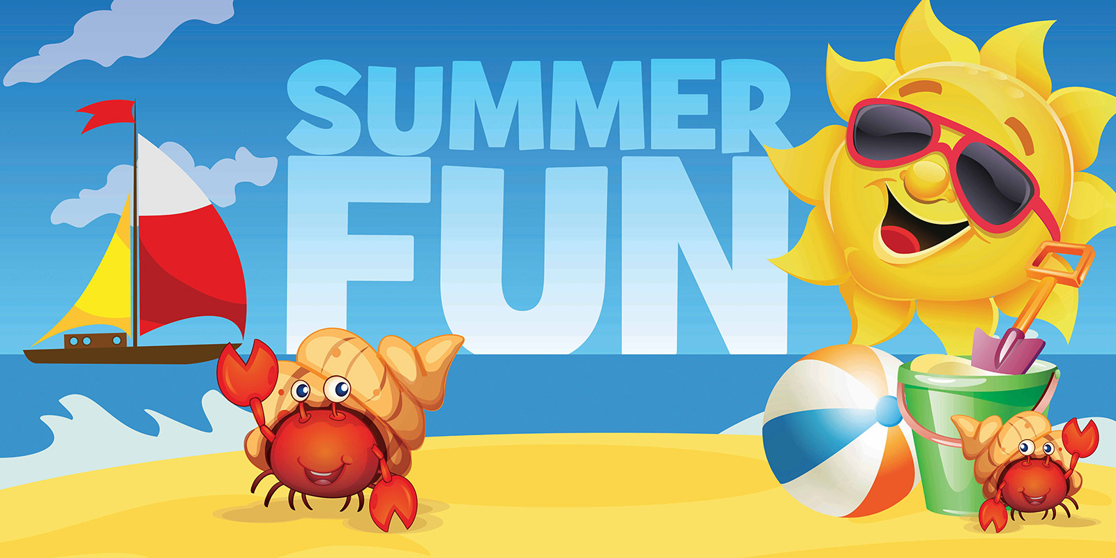 Summer Fun Banner Compel Graphics Amp Printing